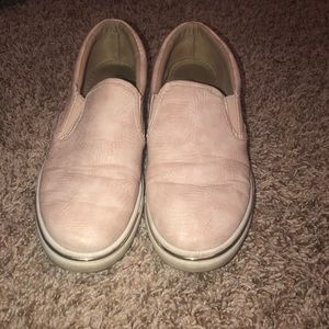 Dusty pink shoes